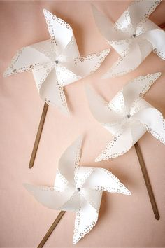 product | Lasercut Pinwheels from BHLDN | laser cut details
