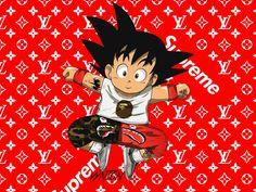 Baby Supreme Goku by Vynton on DeviantArt Cool Anime Wallpapers, Gaming Wallpapers, Animes Wallpapers, Goku Wallpaper, Cartoon Wallpaper, Wall Wallpaper, Supreme Iphone Wallpaper, Supreme Art, Kid Goku