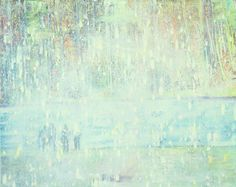 Peter Doig, Reflection (What does your soul look like), 1996, Oil on Canvas, 295 x 200 cm