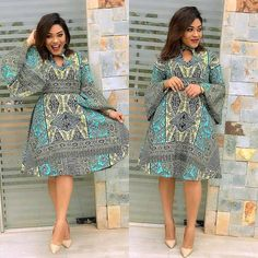 Beautiful African Dresses Hello dearies, today we have the latest and awesome African Ankara styles you can copy to look stylish or even make your friends Ankara Short Gown, Ankara Dress Styles, African Print Dresses, African Dress, Ankara Tops, Ankara Skirt, African Clothes, African Prints, Latest African Fashion Dresses