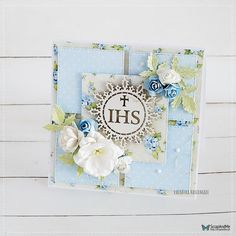 Wyzwanie - Challenge Kwadraty / Something Square First Communion Cards, Explosion Box, Cute Cards, Cardmaking, Scrapbooking, Challenges, Free, Cards, Pretty Cards