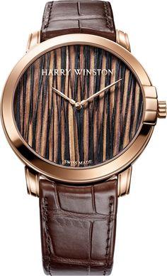 La Cote des Montres : La montre Harry Winston Midnight Feathers Automatic 42mm - Harry Winston inaugure un nouveau territoire d'expression fascinant et troublant