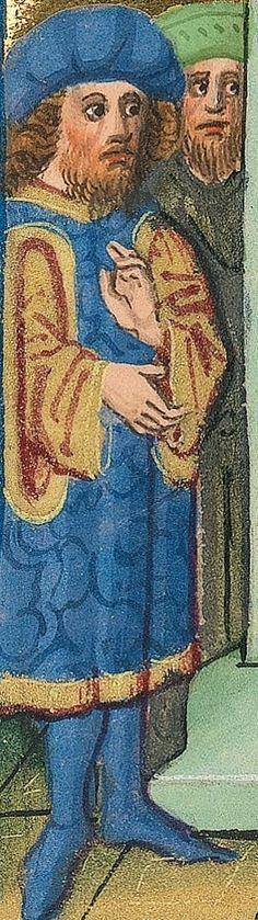 """Furtmeyr-Bibel (Deutsche Bibel """"Münchener Altes Testament""""). Band 1:  Genesis - Ruth. Cgm 8010a 1465-70, Regensburg Folio 204"""