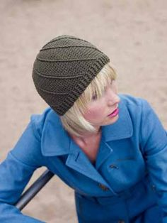 Cabled Crochet Hat, free pattern on interweave site, in the crochet section.