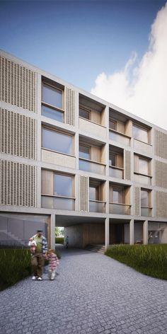 Robbrecht & Daem Architecten Housing Project  Oudenaarde