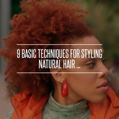 8. Wet Set - 9 #Basic Techniques for #Styling Natural Hair ... → Hair #Twist