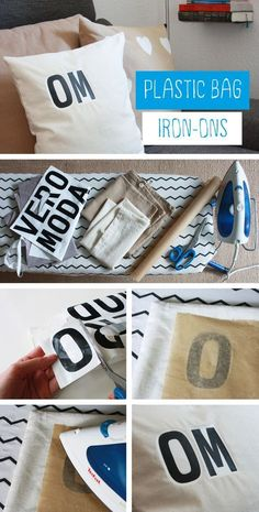 Forget freezer paper... super simple iron-on!