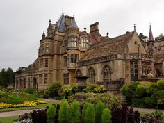 [Tyntesfield House, Somerset, near Bristol, England is a spectacular Victorian house and estate owned by the National Trust] Beautiful Castles, Beautiful Buildings, Beautiful Places, Modern Buildings, Amazing Architecture, Architecture Design, Landscape Architecture, English Manor Houses, English House