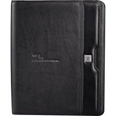 """You will fall in love with the Cutter and Buck Performance Series Zippered Padfolio. This product includes an open pocket, gusseted file pocket, 3 pen loops, USB memory flash drive loop, 4 business card holders, PDA & phone holder, organization pocket and an 8.5"""" x 11"""" writing pad all secured by a zippered closure padfolio. Don't forget to include a personal message or your business or company logo."""