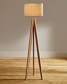 Genial Oak Floor Lamp   Google Search