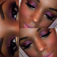 Ellarie makeup look