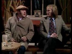 Les Dawson and Dennis Waterman on the pull in pub! - Thank you very muuuuuch! Les Dawson, Comedy Video Clips, Tv Adverts, Funny Bones, Olivia Newton John, British Comedy, Monologues, We Remember