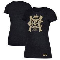 80e4b8a70ecb Conor McGregor UFC Reebok Women s Foil T-Shirt - Heather Black