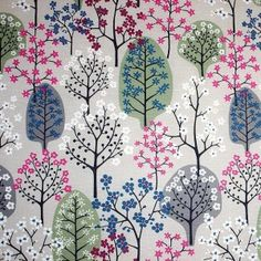 Spira Haga Sage Green & Grey Scandianvian Fabric - for curtains and cushions for lounge