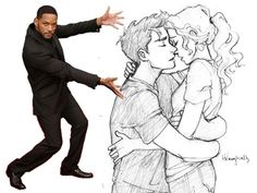 Percabeth and will smith.. TOO FUNNY!