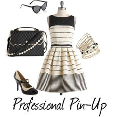 Professional Modern Pin-Up Style