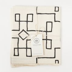 Handmade Eco-friendly Sustainable Organic Cotton Nevada Tea Towel
