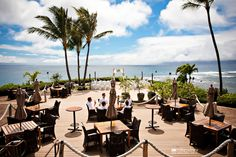 MERRIMAN'S RESTAURANT - Kapalua, Maui in Lahaina, a renowned oceanfront restaurant featuring farm-to-table cuisine in an elegant setting with great views. Address: 1 Bay Club Place, Lahaina HI 96761. It's located not far from KAPALUA BAY BEACH.