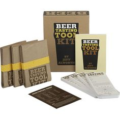 Beer Tasting Tool Kit in Stocking Stuffers | Crate and Barrel