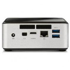 Intel NUC Kit D34010WYK Intel Core i3-4010U (3MB Cache, 1.7GHz), DDR3, No HDD, Intel HD Graphics 4400, Gigabit Ethenet, No OS