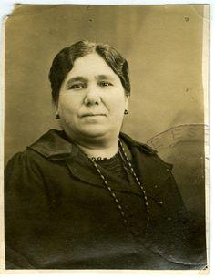 mon AGMMP Maria Palomo, épouse de José Tovar Fonseca, mère de mon GPM...