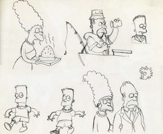 The begin of the Simpsons