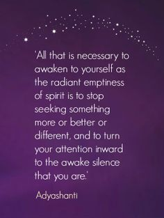 Adyashanti's Wisdom - Awaken Within. Love.