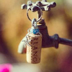 AWWWW!!!!! make a gift for ur mom dad wife husband anyone that u love and make them a cork keychain that says something sweet!!!!!