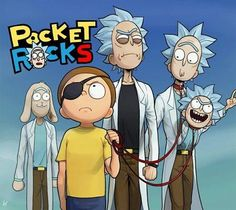 You've Heard of Pocket Mortys, Now Get Ready For... Rick and Morty
