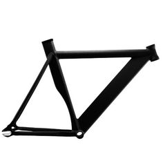 Fixed Gear Bike Frames - Alloy Track Fixie Frame Matte Black 55 -- You can get more details by clicking on the image.