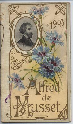 Alfred de Musset 1903 Calendar (Tuck DB Ephemera)