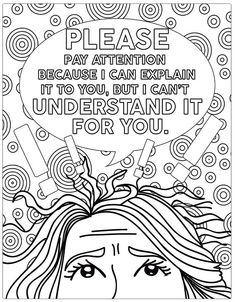 Teacher Coloring Book Books Pages Adult C