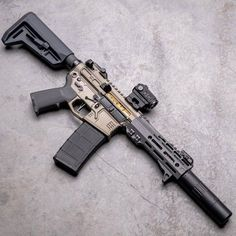 Deluxe Timber — How sick is this custom build? Custom Ar15, Custom Guns, Tactical Rifles, Firearms, Shotguns, Weapons Guns, Guns And Ammo, Ar Pistol Build, Ar Build