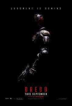 Psychic Judge Takes on Drug Lord in 3D Visual Sci-Fi Feast in 'Dredd' (WBRi Movie Review): Dredd 3D (2012) Film Poster