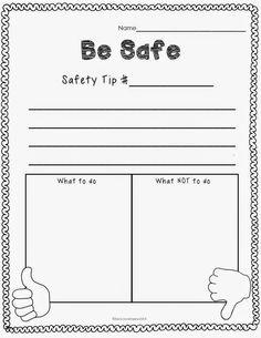 Classroom Freebies Too: Classroom Rules - Be Safe