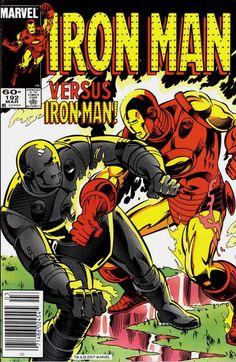 Iron Man vol.1 #192 (Marzo 1985) Autores: Luke McDonnell, Ian Akin y Brian Garvey