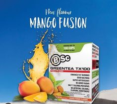 Mango Greentea For the first time probiotics meets 100 cups of green tea in an advanced weight loss system. All natural GreenTea TX100 is a delicious tasting, 7 calorie, convenient and easy to use sachet The health and weight loss benefits associated with the regular consumption of green tea are well-documented and now Body Science would like to introduce you to the latest in product development - our new GREENTEA TX100. http://www.bodyscience.com.au/shop/green-tea-tx100.html