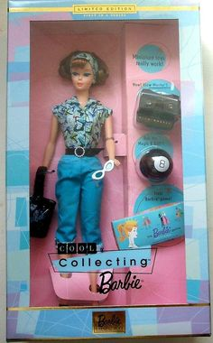 Barbie, 'Cool Collecting Barbi - Red hair,Boxed Set. MIN/NRFB-Limited edition 20