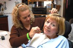 BJC Hospice volunteers provide many helpful services to patients.  www.bjchospice.org