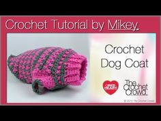 Dog Sweater Crochet Pattern | Red Heart great pattern. I adjusted a little to fit Luna but it cane out great!