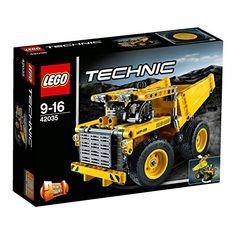 LEGO Technic Mining Truck Model 362 Pieces Kids Building Playset  42035