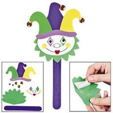 J is for jester. Could be a quick and fun choice activity.