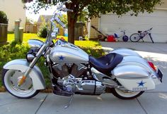 dallas cowboy theme motorcycle