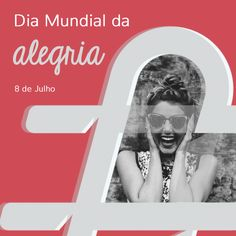 A opção de hoje é ser feliz! ☺️ #DiaMundialDaAlegria