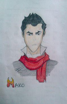 #Mako from #AvatarTheLegendOfKorra #Mako #FireBender #art