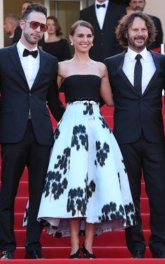 Natalie Portman in Christian Dior - Cannes Film Festival 2015: Red Carpet | Harper's Bazaar
