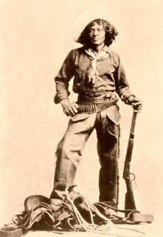 Although racial discrimination certainly existed, there was a rough sort of frontier equality in parts of the West.There were relatively few people, much danger, lots of work  to be done & not a lot of social structures.Apparently cowboy crews were a pretty mixed lot of Whites,Blacks, Mexicans & sometimes Native Americans forced by necessity to rub shoulders.African-American cowboys became ranch hands,cowboys,even gunslingers,rustlers,dance hall girls & miners. photo: Nat Love (Deadwood…