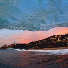 In the swell