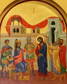 Rebuilding Project In Pictures Catholic Art, Roman Catholic, Religious Pictures, Holy Week, Orthodox Icons, Medieval, Saints, Holy Quotes, Altars