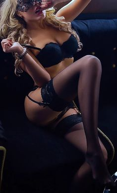 Sexy Girl with Stockings